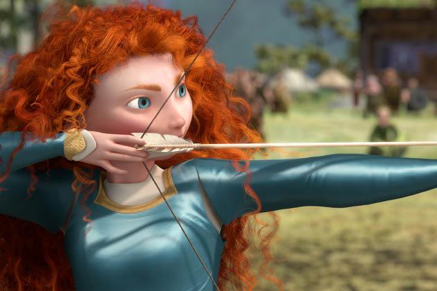 Prinsessa Merida (äänenä Kelly MacDonald).