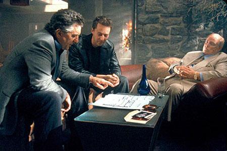 Robert De Niro, Edward Norton ja Marlon Brando