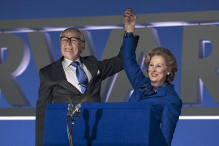 Jim Broadbent ja Meryl Streep