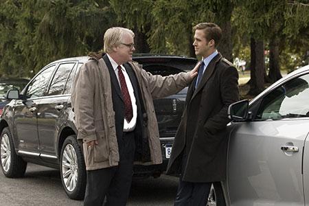 Philip Seymour Hoffman ja Ryan Gosling