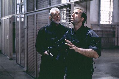 Sean Connery ja Nicolas Cage
