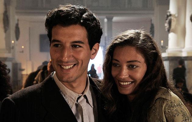 Francesco Scianna ja Margareth Madè
