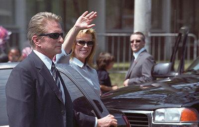 Michael Douglas ja Kim Basinger
