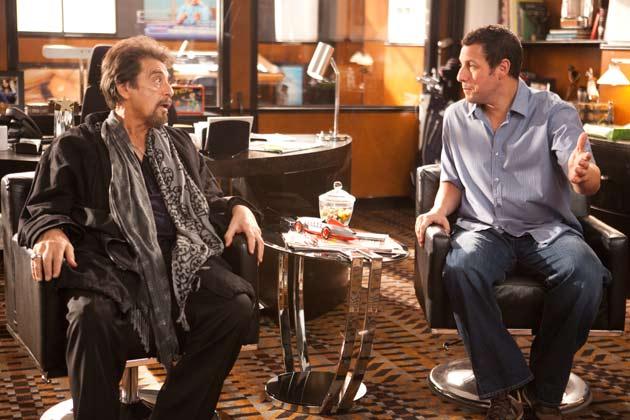 Al Pacino ja Adam Sandler