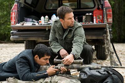 Michael Peña ja Mark Wahlberg