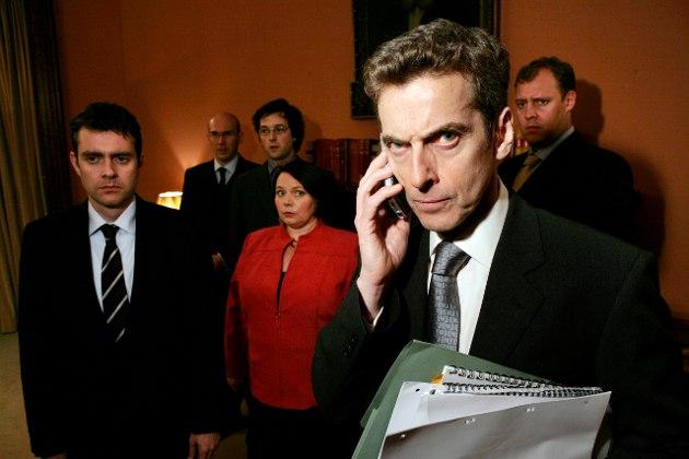 Edessä hallituksen sydän, Malcolm Tucker (Peter Capaldi)