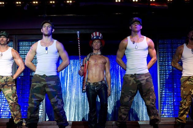 Alex Pettyfer, Matthew McConaughey, Channing Tatum