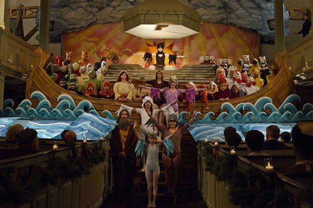 Benjamin Brittenin Nooan Arkilla on keskeinen rooli