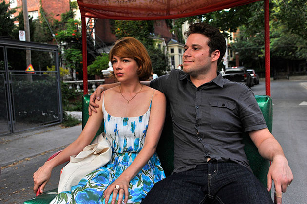 Michelle Williams ja Seth Rogen