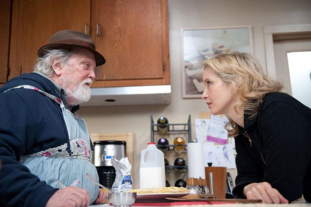 Julie ja isä Albert Delpy