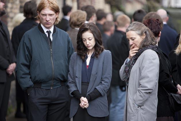 Domhnall Gleeson, Andrea Riseborough ja Brid Brennan