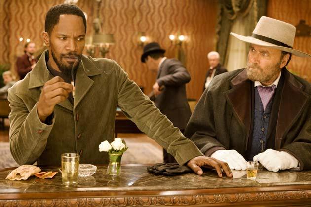 Kaksi Djangoa: Jamie Foxx ja Franco Nero