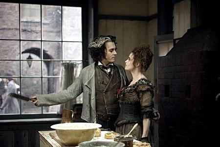 Johnny Depp ja Helena Bonham Carter.