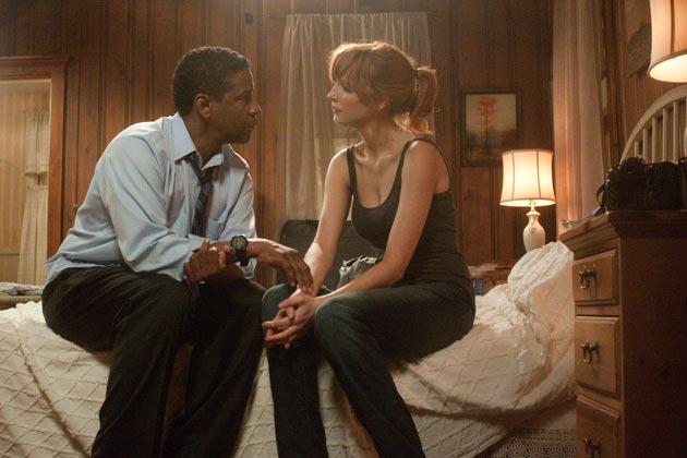 Denzel Washington ja Kelly Riley