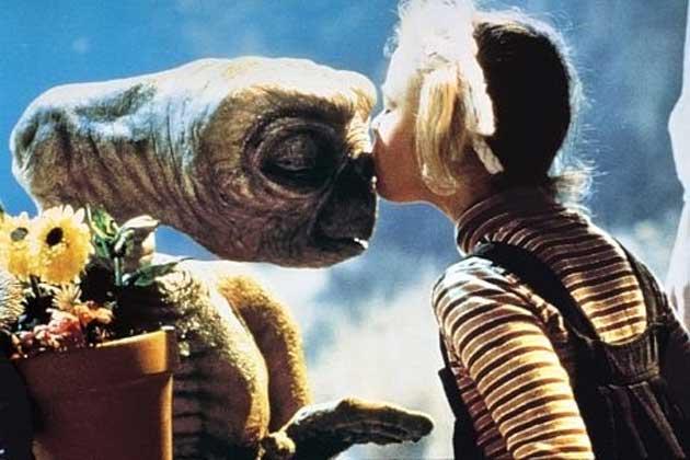 E.T ja Drew Barrymore