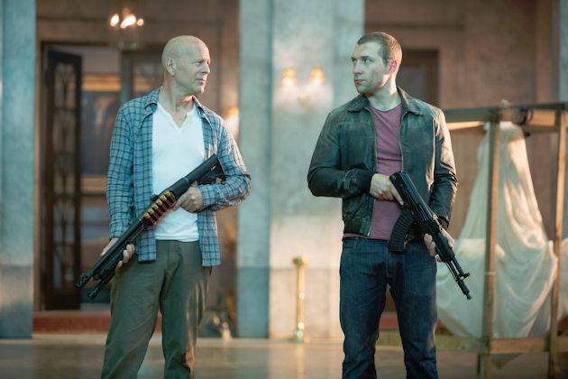 Vanhempi ja nuorempi McClane