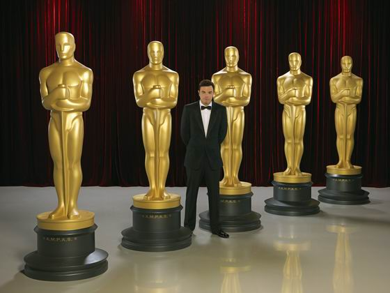 Gaalan juontaa Seth MacFarlane. Kuva: ABC/Bob D'Amico