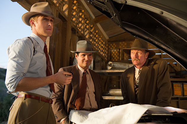 Ryan Gosling, Michael Peña ja Robert Patrick