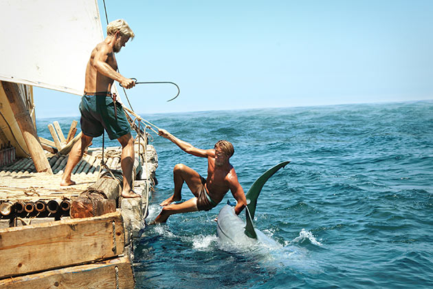 Kalastusta Kon-Tikin tapaan