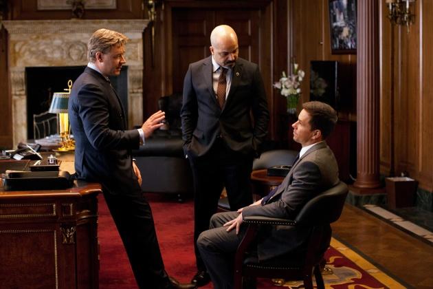Crowe, Wright ja Wahlberg