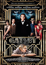 Great Gatsby - Kultahattu juliste