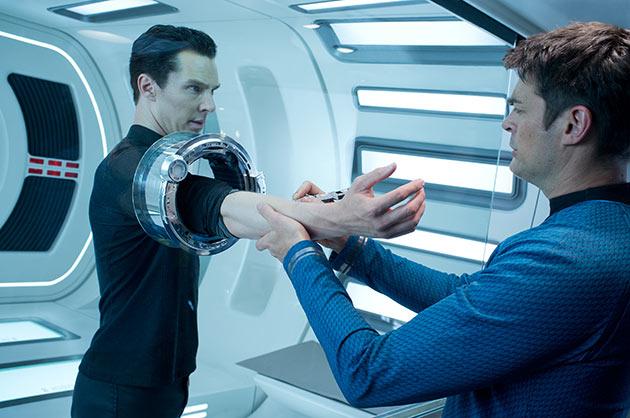 Benedict Cumberbatch ja Karl Urban
