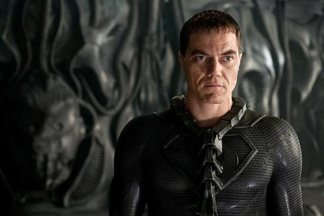 Michael Shannon on Kenraali Zod