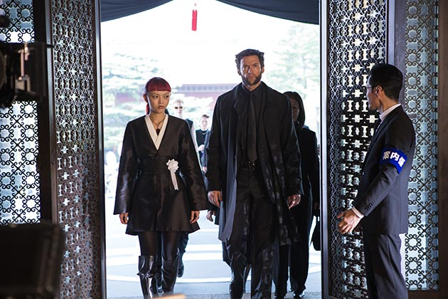 Hugh Jackman ja Rila Fukushima