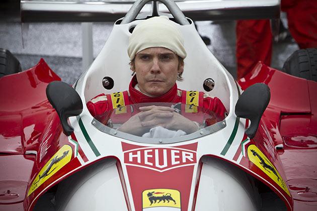 Daniel Brühl on osuva Niki Lauda