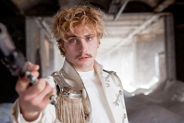Aaron Taylor-Johnson on Vronsky