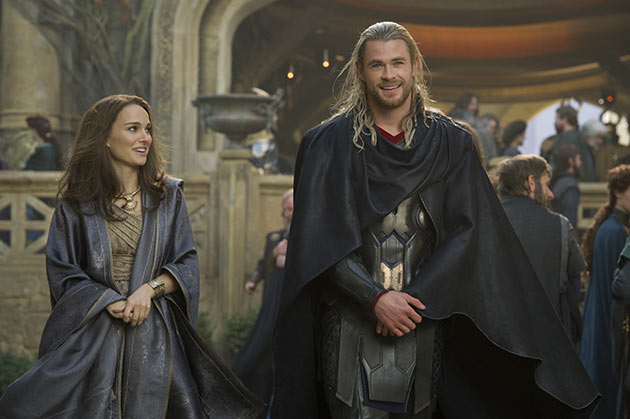 Chris Hemsworth ja Natalie Portman