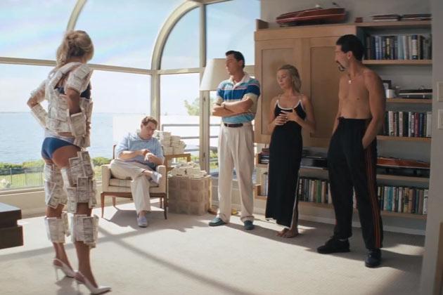 Leonardo DiCaprio, Jonah Hill, Margot Robbie