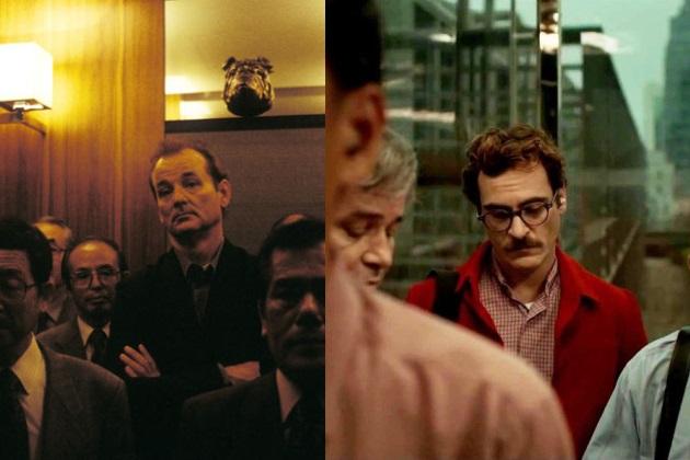Bill Murray ja Joaquin Phoenix hisseissä