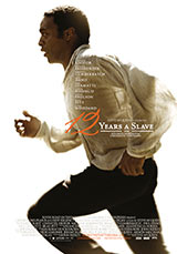 12 Years a Slave poster juliste Chiwetel Ejiofor