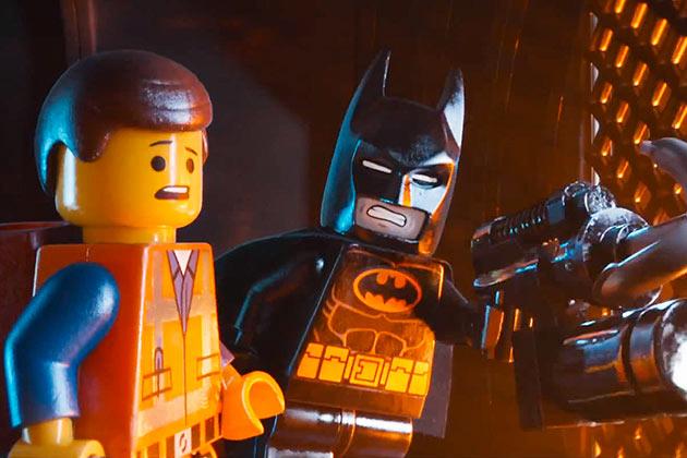 Emmet ja Lego Batman