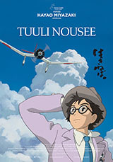 Tuuli nousee Miyazaki julkiste poster
