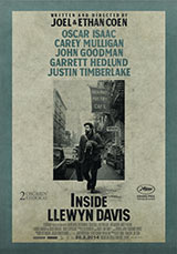 Inside Llewyn Davis poster, juliste