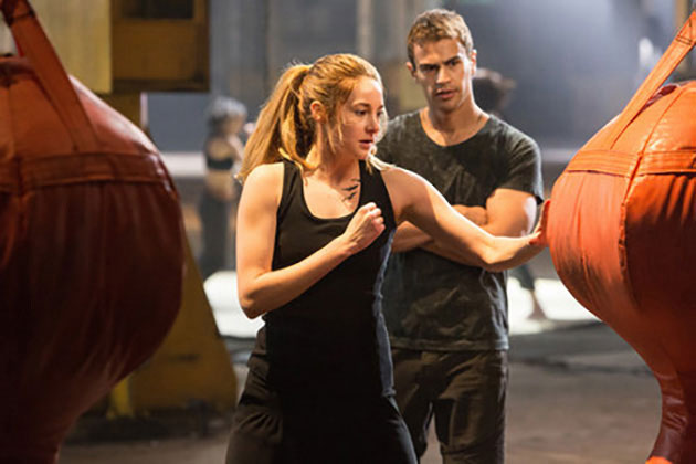 Shailene Woodley ja Theo James