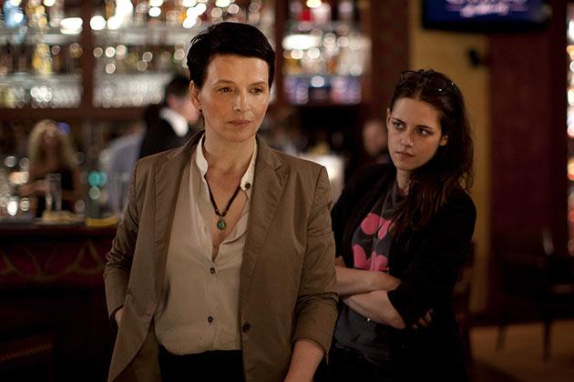 Juliette Binoche ja Kristen Stewart