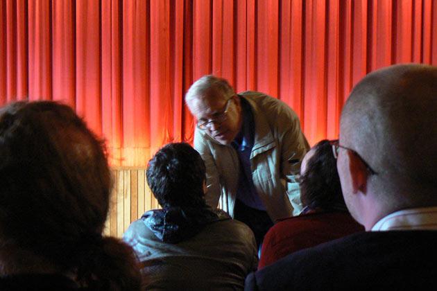 von Bagh jututti Atom Egoyania Sodankylässä 2011.