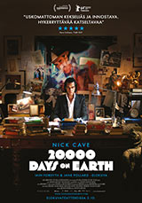 20 000 Days on Earth Juliste, poster