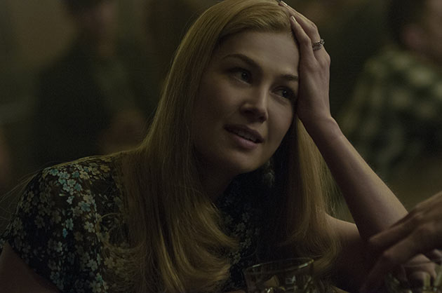 Rosamund Pike on Amy Dunne