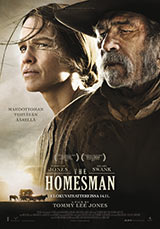 The Homesman, juliste: Tommy Lee Jones ja Hilary Swank