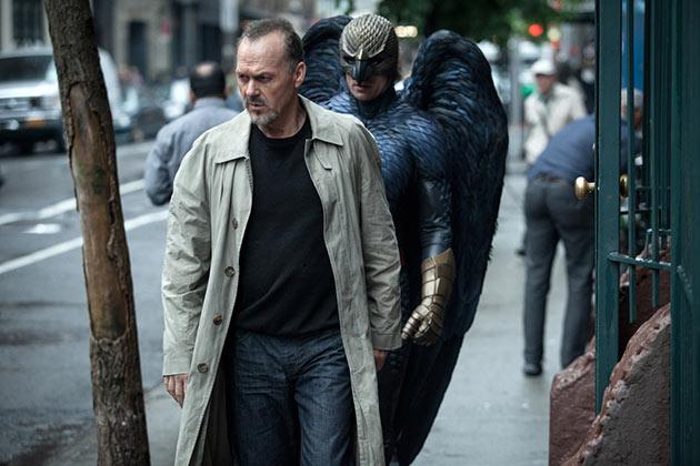 Michael Keaton elokuvassa The Birdman