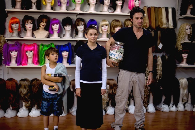 Zach Braff, Joey King ja Pierce Gagnon