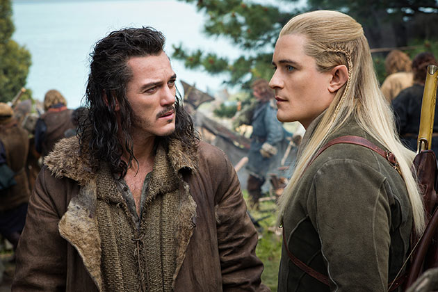 Luke Evans ja Orlando Bloom