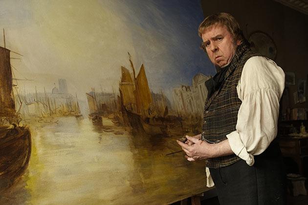 Timothy Spall elokuvassa Mr. Turner