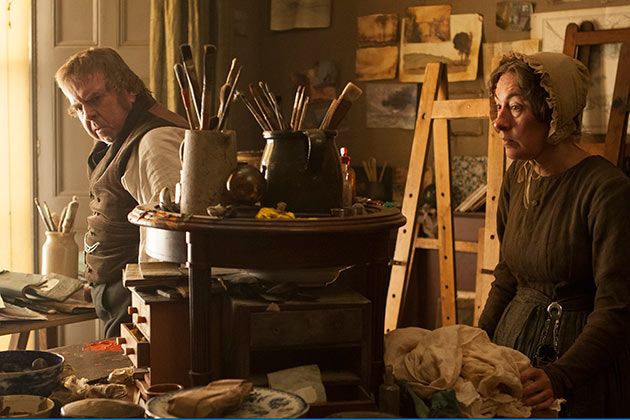 Mike Leigh'n elokuva Mr. Turner.