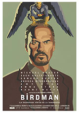 Birdman poster, Keaton.