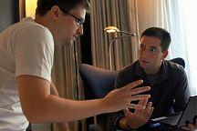 Edward Snowden ja toimittaja Glenn Greenwald
